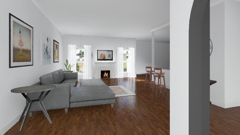 Living Room 4 Interior Design Render