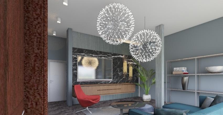 Ianu`s living Interior Design Render