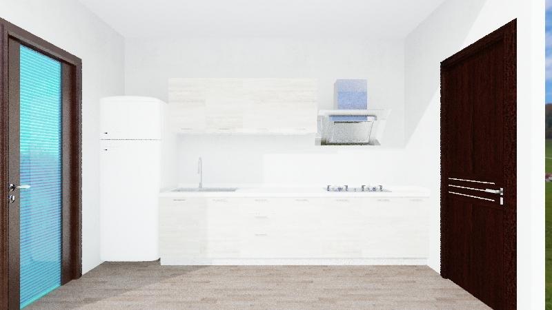 Cuina Agnes Armengol 48 Interior Design Render