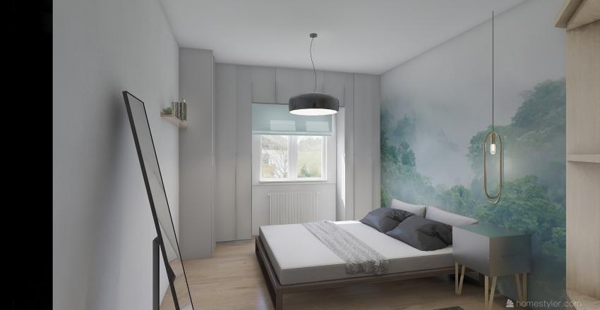 AIR APARTMENT Interior Design Render