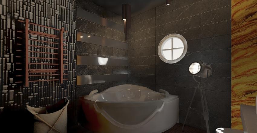шершни ванная набросок удалить Interior Design Render