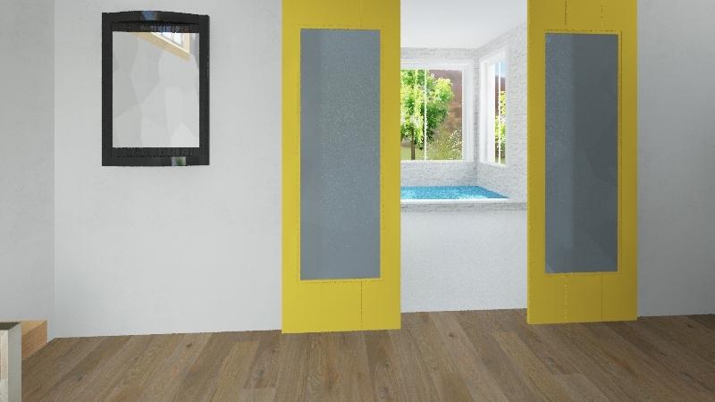 Meditation Interior Design Render