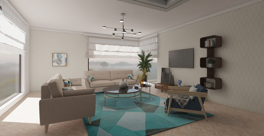 New design Sarajevo apartment Interior Design Render