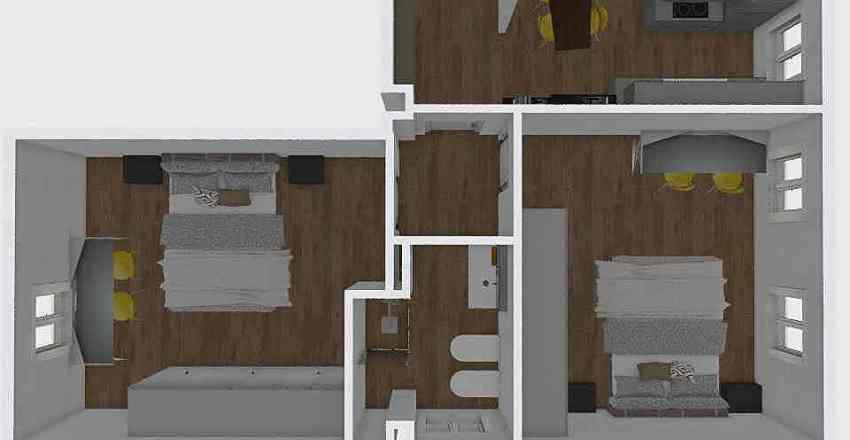SCHIOPPA Interior Design Render