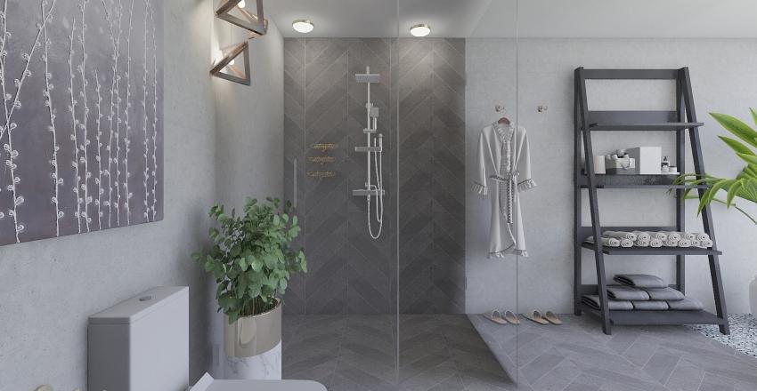 Luxury small house/Flat Interior Design Render