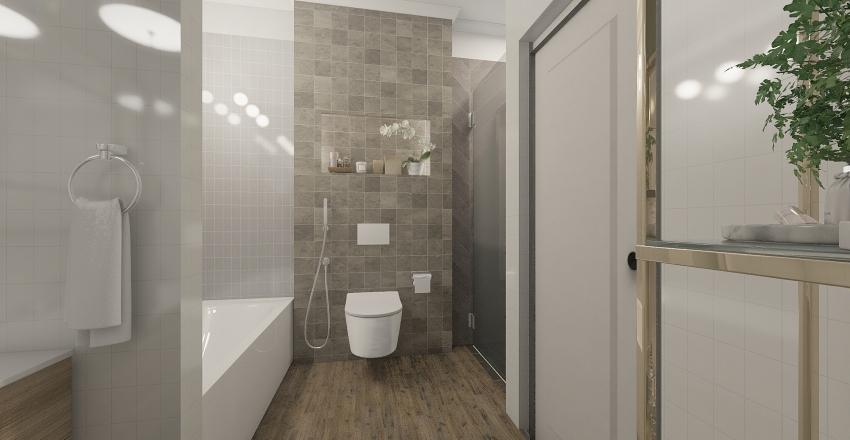 Apartmen in Siberia Interior Design Render