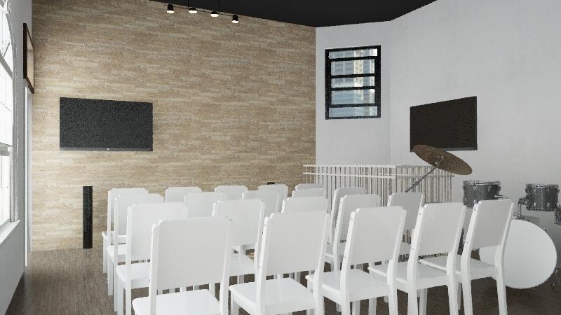 MyGeneration Church Harlem Interior Design Render