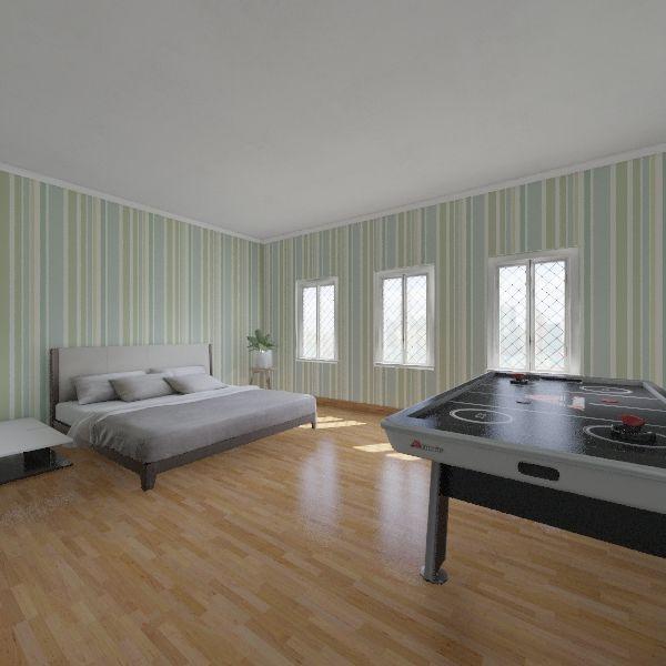 habitacin Interior Design Render