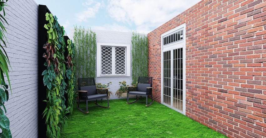 Oaxaca House Interior Design Render