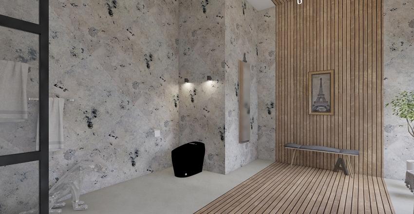 7 Bathroom Styles Interior Design Render