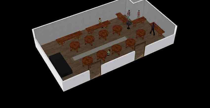 Precious catering2 Interior Design Render