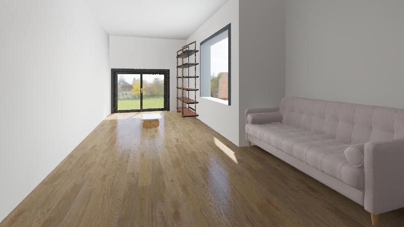 2 domek Interior Design Render