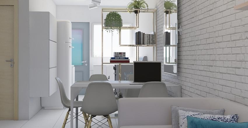 Juliane Frigo - Estante Interior Design Render