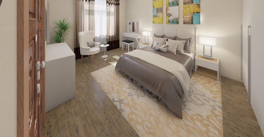 Anna-Sisa átalakítás Interior Design Render