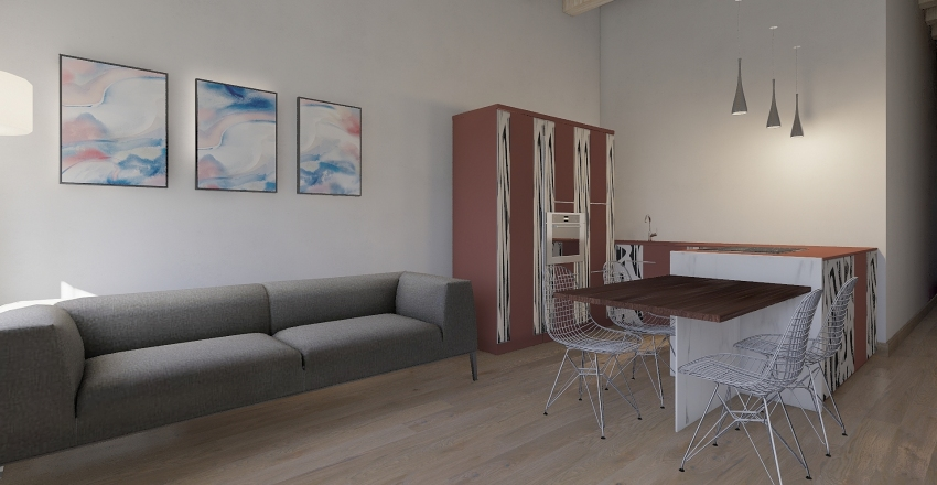 NICOLA FABRIS Interior Design Render