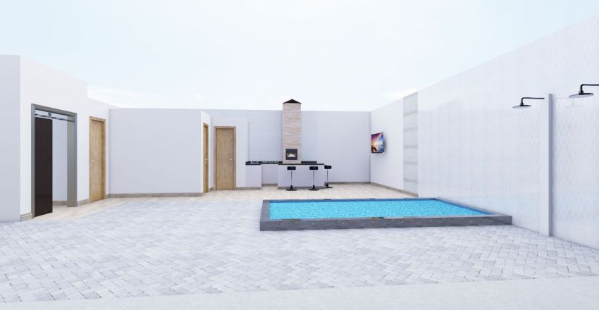 edicula 2 Interior Design Render