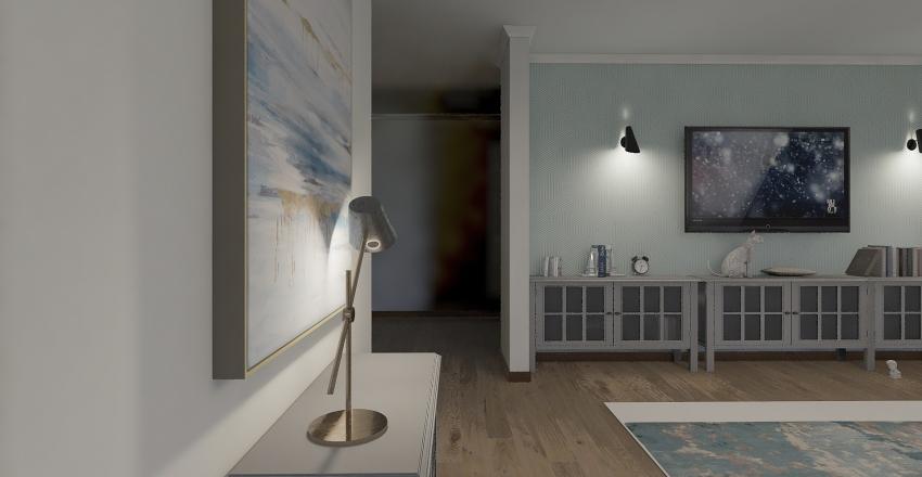 План квартиры Interior Design Render