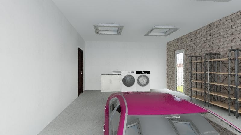 Tech house 2 Interior Design Render