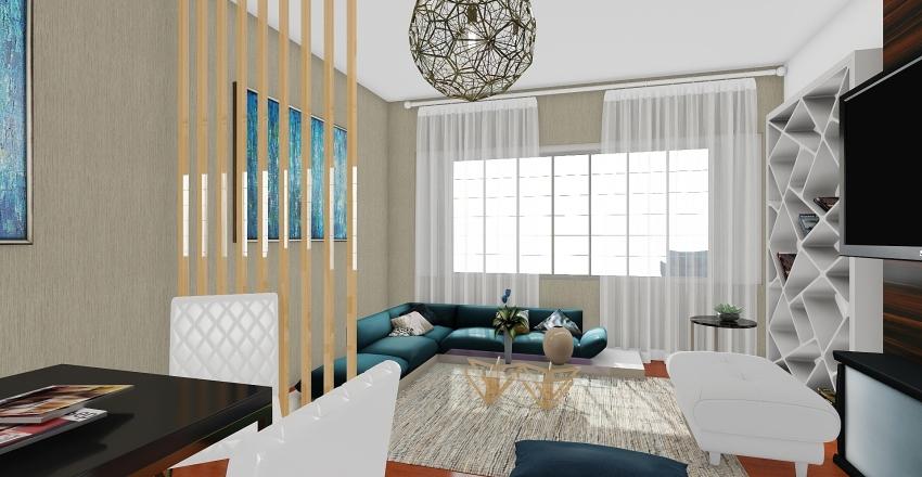hall Interior Design Render