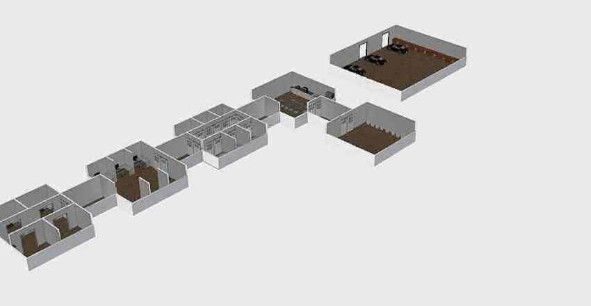Mars Habitat Interior Interior Design Render
