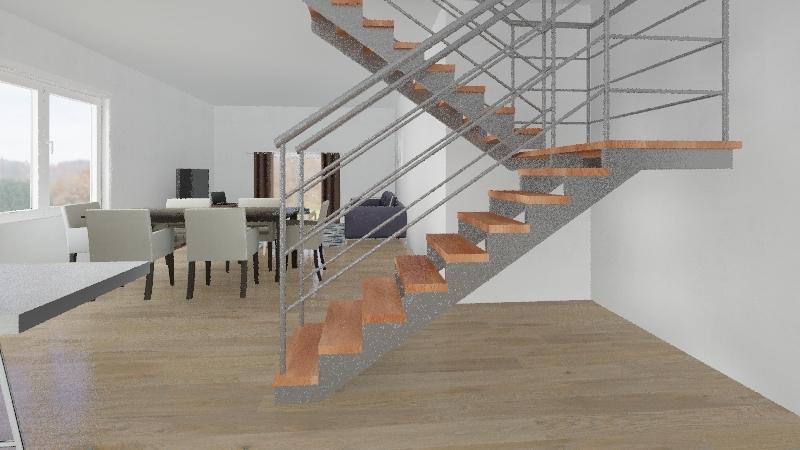 casa Pedro Interior Design Render