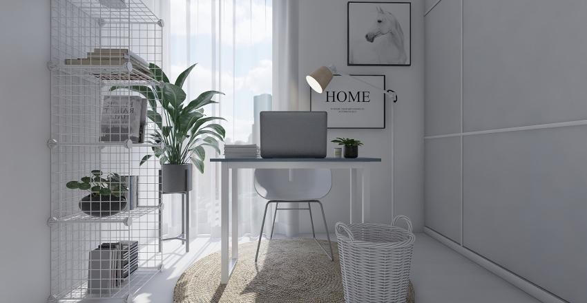 SCANDI LOFT Interior Design Render