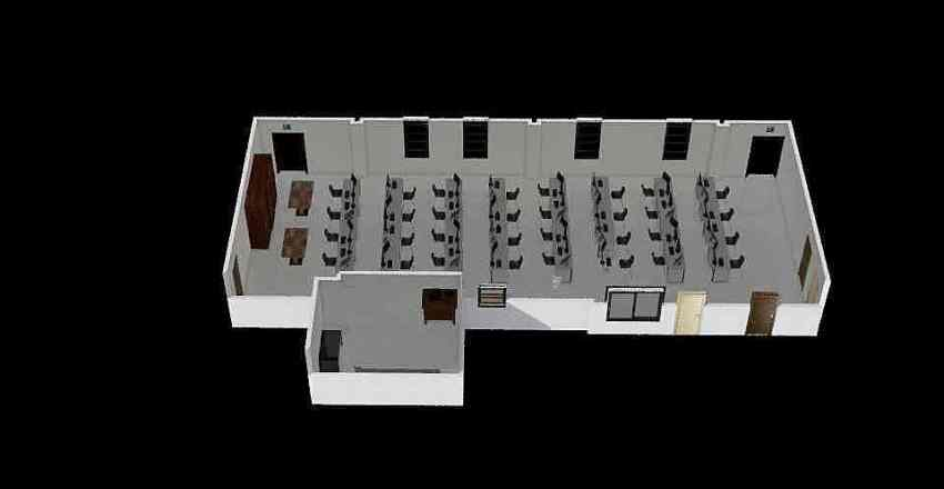 Classroom design thing Interior Design Render