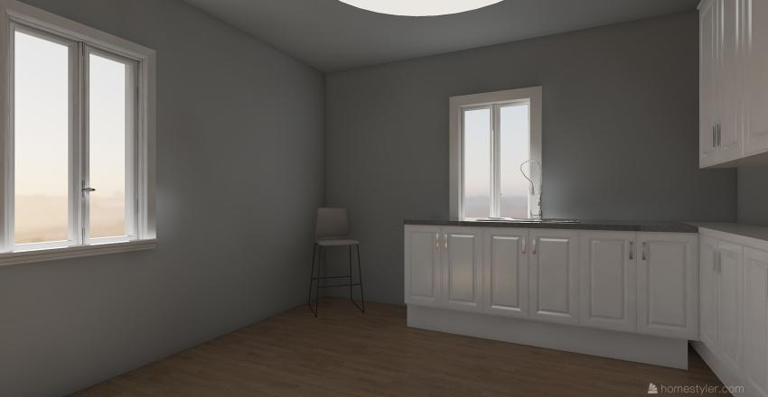 A,B & R'S TINY HOME Interior Design Render