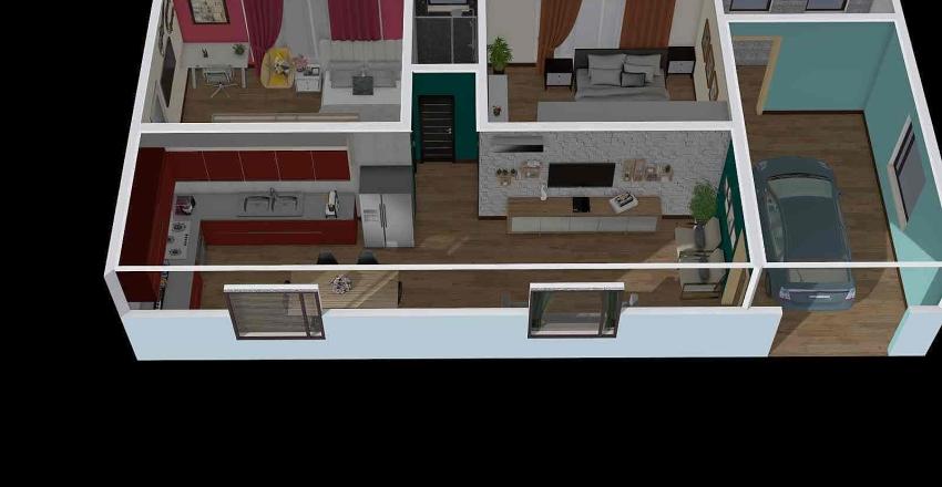 Casa - Kauane Tiemann Interior Design Render