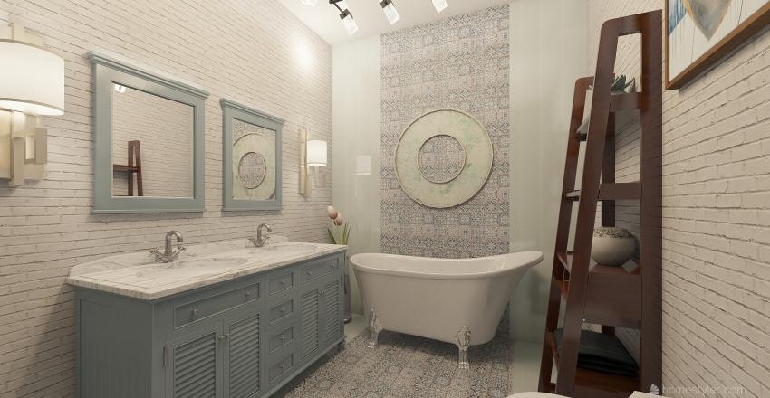 first bath Interior Design Render