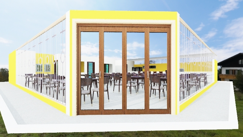 Angico Bar 3 - Simple Interior Design Render