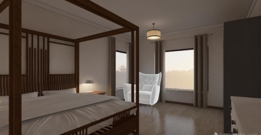 Tin Hut - Version 4.5 Interior Design Render