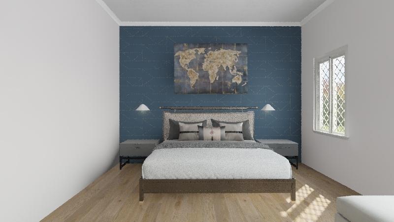 symetrical ballance Interior Design Render