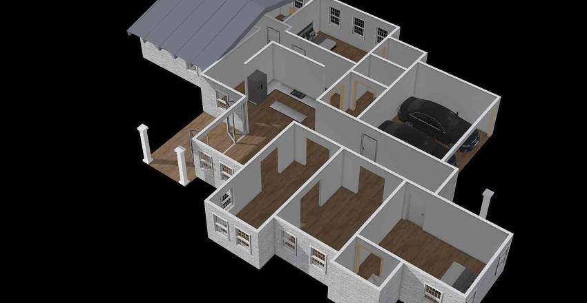 Tech Floorplan Interior Design Render