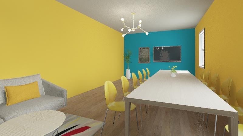 design and media Interior Design Render