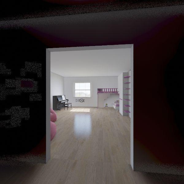 Example Dorms Interior Design Render