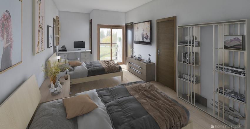 Lote Ing. Luis Esquivel PA Interior Design Render