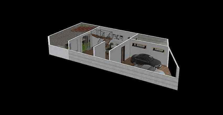 CASA ING. AGUSTIN TONCHE Interior Design Render