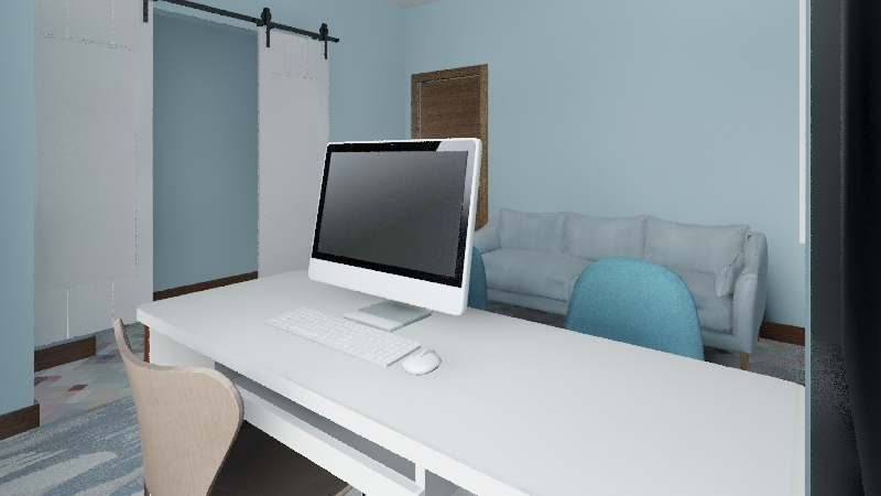 Ashley's Office Interior Design Render
