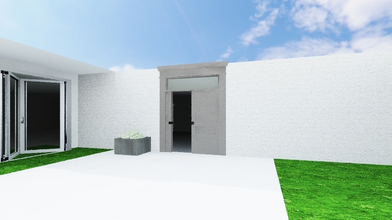 House 1 Interior Design Render
