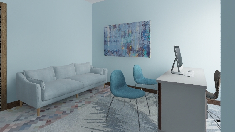 Ashley's Office Interior Design Render