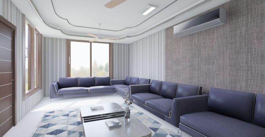 1st floor RCC house plan Interior Design Render