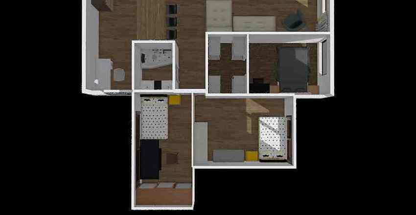 Podgorscy2 Interior Design Render