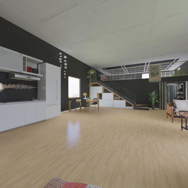Off the Grid Interior Design Render