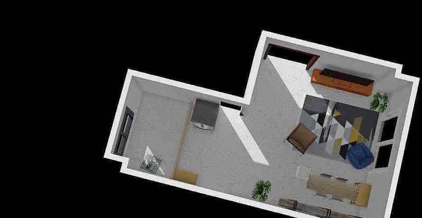 Family no sofa Interior Design Render