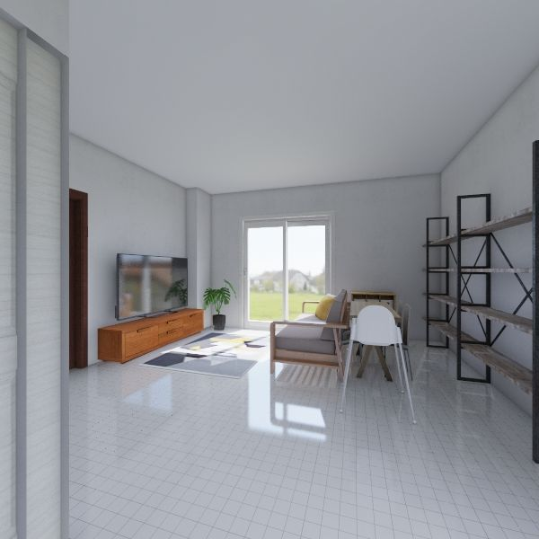 family Interior Design Render