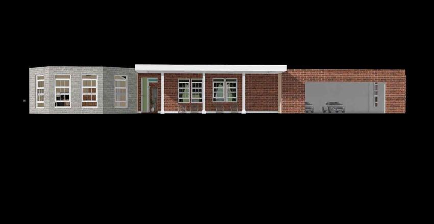 Suburb Simplicity Interior Design Render
