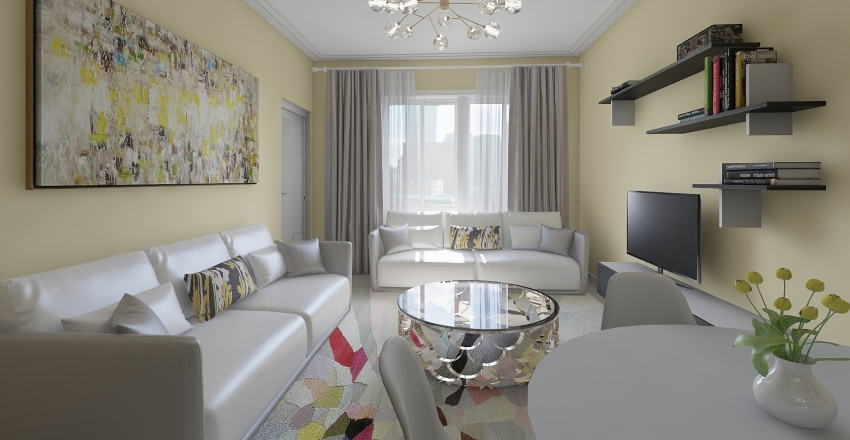 Snežankica Interior Design Render