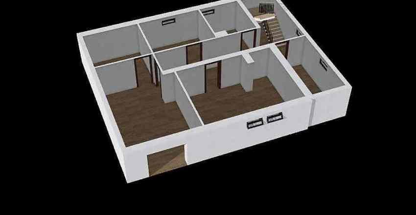 sklepy+terasa Interior Design Render