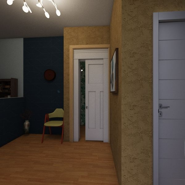 psychology office Interior Design Render
